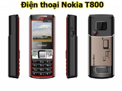 Điện thoại Nokia T800 siêu nhỏ gọn với nhiều chức năng tuyệt hảo. Giá siêu khuyến mãi chỉ 388.000đ ♥ ♥