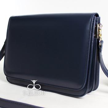 Túi xách da đeo chéo PU - Màu Xanh Đậm - ID1650