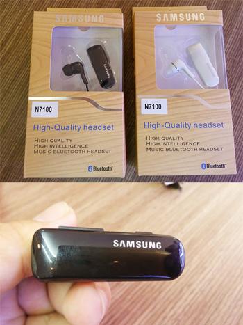 Tai nghe Bluetooth Samsung N7100 Chính hãng - Có 2 màu - ID1717