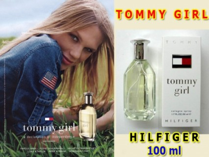 Nước hoa Tommy Girl thể hiện sự nữ tính và gợi cảm của người phụ nữ được thể hiện qua những loài hoa hương thơm độc dáo.