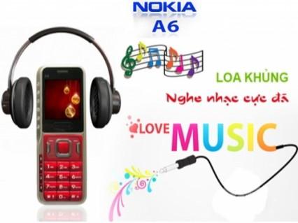 Điện thoại NOKIA A6 2 sim 2 sóng đầy đủ phụ kiện, Full chức năng, loa khủng - nghe nhạc cực đã. Hàng mới về
