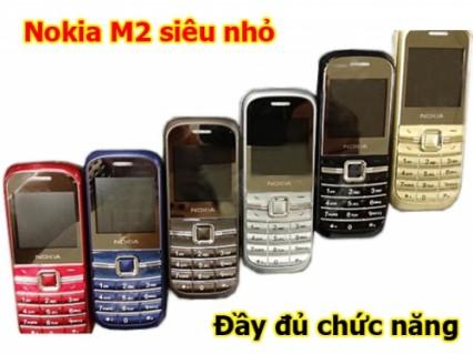 Điện thoại NOKIA M2 đầy đủ phụ kiện siêu nhỏ gọn với nhiều chức năng tuyệt hảo mà giá lại cực shock. Giá mới♥ ♥