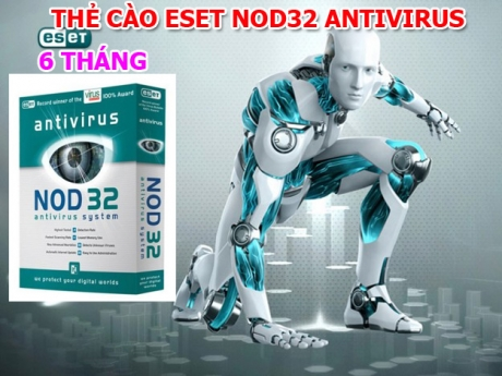 Phan mem diet  Virus ESET NOD32 Antivirus 6 thang: Vuot qua 73/75 so ki da tham du VB100 gan nhat. Bao ve chiec may tinh cua ban an toan, hieu qua. ID484