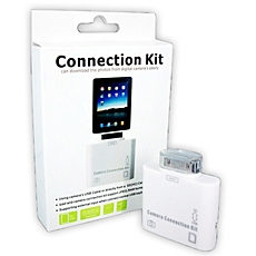 Connection Kit 5 trong 1 cho IPAD, IPHONE -  Khong can phai cai dat Itune van co the chep nhac, phim, hinh anh truc tiep den may tinh va nguoc lai. ID496