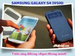 DH Deal - Ngo ngang SamSung Galaxy S4 i9500 - Cam ung khong cham thong minh Air View - Ram 2G Chip loi tu, Camera 13Mpix, Giong chinh hang 100%. Hang moi ve Singapore chi co tai dhdeal. ID582