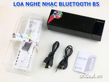 Loa Klivien Bluetooth B5 - với 2 loa cho âm thanh chất lượng, có mic trò chuyện thoại, tự lưu và phát tiếp lại bài hát lúc tắt. ID584