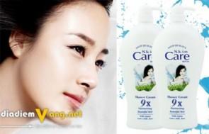 Khuyến mãi HOT: DEAL Combo 2 Sữa Tắm Trắng Da Skin Care 9x g...