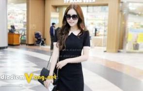 Khuyến mãi HOT: DEAL Đầm Ôm Cổ Sen Hàn Quốc giá rẻ - Voucher...