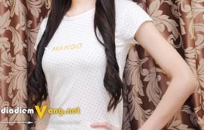 Áo Thun Mango Chấm Bi thời trang voucher giảm giá...