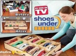 HOTDEAL - Hộp đựng giày dép 12 ngăn giá rẻ - Voucher giảm g...