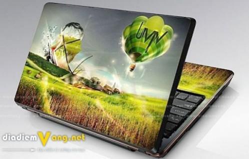 Dịch vụ Dán Laptop - Công nghệ in 3D hiện đại. gi... - Phụ Kiện