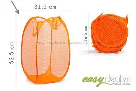 Bộ 2 túi lưới đa năng đựng đồ giặt hay giúp dọn dẹp gọn gàng.