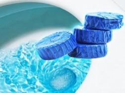 Vỉ 4 Viên Tẩy Toilet Diệt Sạch Vi Khuẩn Cho Bồn Cầu Sạch Sẽ