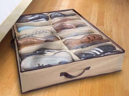 Túi Vải Đựng Giầy 12 Ngăn Tiết Kiệm Tối Đa Căn Phòng Bạn