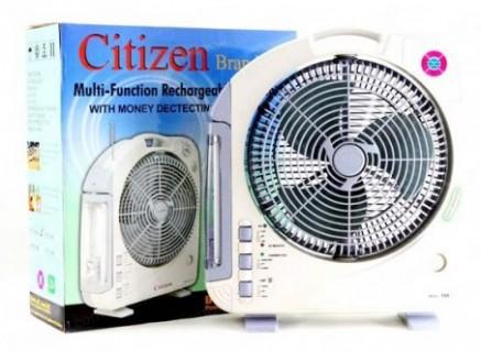 Tiện Dụng Và Đa Năng Cùng Quạt Sạc Citizen XTC 168