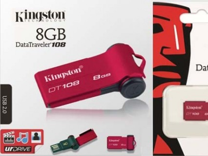 Thiết bị lưu trữ dữ liệu Kingston DT108 - 8GB - Công Nghệ - Điện Tử