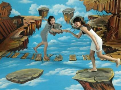 Cùng Tham Quan Thế Giới Tranh 3D Vui Nhộn Và Sống Động