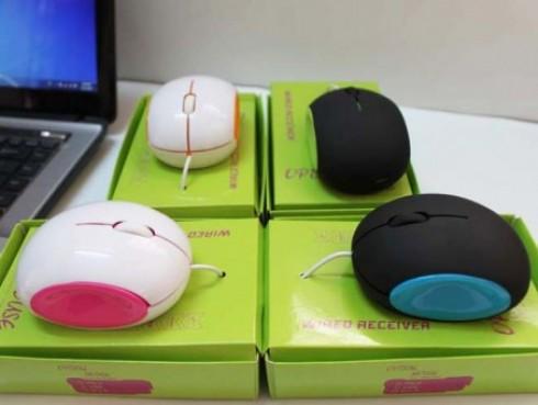 Chuột Dây USB Bánh Mì Burger - Kiểu Dáng Thời Trang Hot 2013 - Phụ Kiện