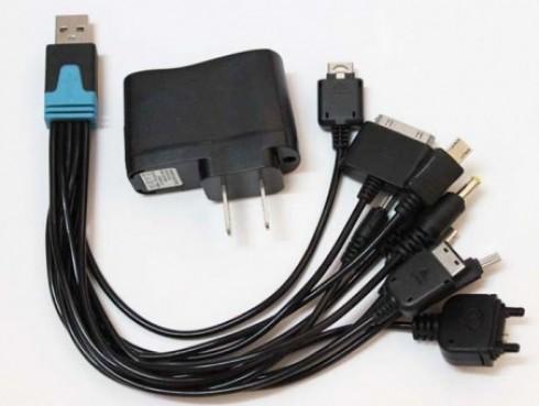 Tiện Dụng Với Thiết Bị Sạc Đa Năng Đầu Cắm USB 10 Đầu Sạc