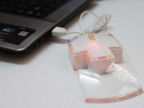 Chuột Mirror Có Dây - Công Nghệ Led On Thời Trang 2013