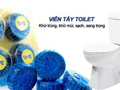 Vỉ 4 Viên Tẩy Toilet Diệt Sạch Vi Khuẩn Cho Bồn...
