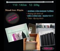 Eshop 24H - Thanh Treo Inox Da Nang Va Tien Dung Nissin 110-140cm