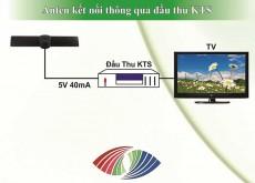 Eshop 24H - Dau Thu + Anten DVB-T2 Truyen Hinh Ky Thuat So