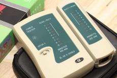 Eshop 24H - Dung cu kiem tra day cap internet, dien thoai Cable Tester RJ11, RJ45