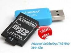 Eshop 24H - Combo the nho Micro SD 8GB + Adapter + Dau doc the