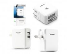 Eshop 24H - Sac PISEN Dual USB iPad Adapter Charger 1A & 2A