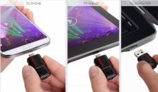 Eshop 24H - USB 32Gb OTG Drive 2 Dau Cam Micro-USB Cho Smartphone, Tablet, May Tinh