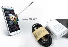 Eshop 24H - Bo Cap + Adapter Sac USB Dau Micro Cho Samsung, Dien Thoai, HTC, LG...