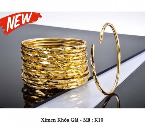 Eshop 24H - Vong tay Ximen 6 chiec K10 ma 18K cao cap - Net duyen cua phai dep