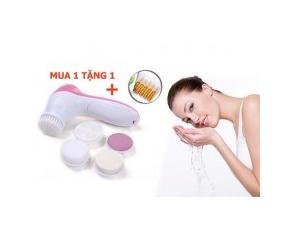Eshop 24H - May Rua Rua Va Massage Mat 5 trong 1 Cham Soc Cho Da