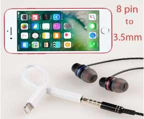 Eshop 24H - Jack Chuyen Doi Cong Audio Tu 8 Pin Sang 3.5mm Cho Iphone 7
