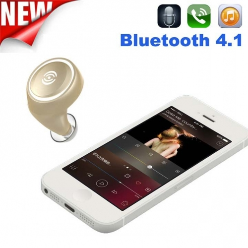 Tai nghe Bluetooth A4 công nghệ Voice HD kết nối 4.1