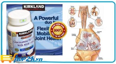 Viên uống bổ xương khớp Glucosamine HCL 1500 mg