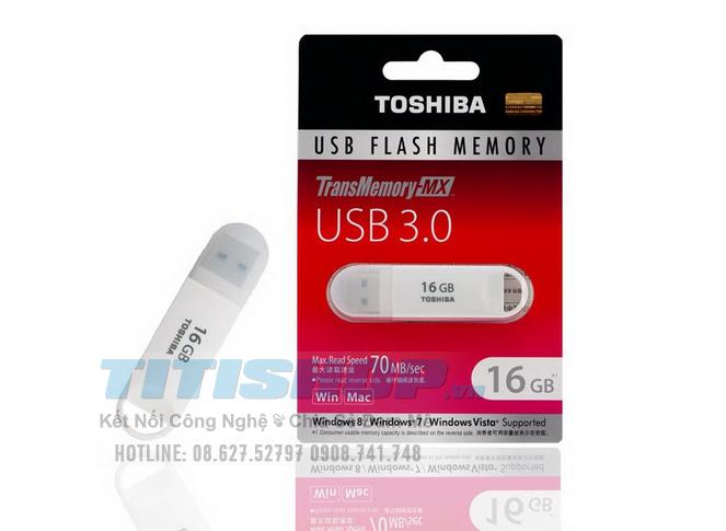 USB 16GB 3.0 TOSHIBA TRansmemo..