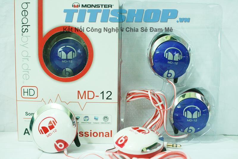 Eva Deal VN - Tai Nghe Monster Beat By Dr Dre MD12