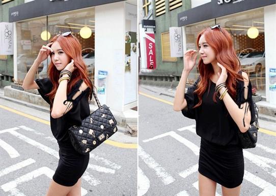 Đầm phong cách Hàn Quốc-