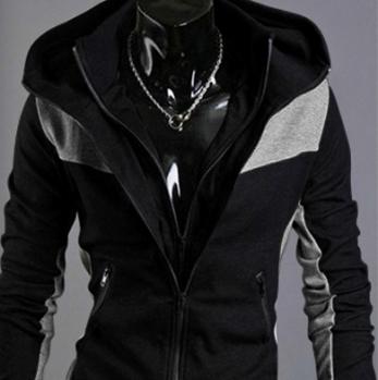Áo khoác nam XO màu đen-
