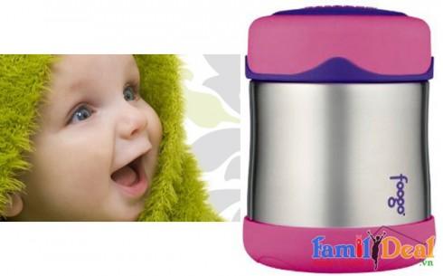 Hộp giữ nhiệt Thermos Foogo - Sản phẩm cho bé