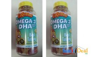 Gummy Fish Omega 3 và DHA
