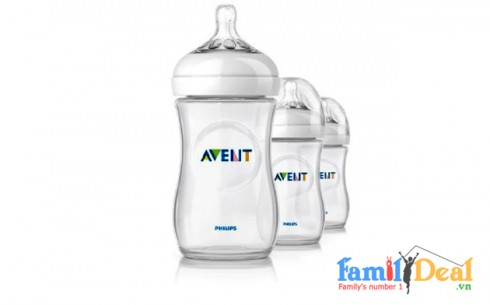 Bình Sữa Cổ Rộng Avent Natural - Sản phẩm cho bé