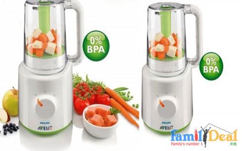 Máy hấp&xay đồ ăn Philips Avent - Sản phẩm cho bé