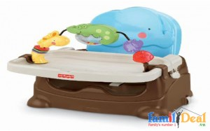 Ghế ăn Fisher price Luv U Zoo Busy Baby...