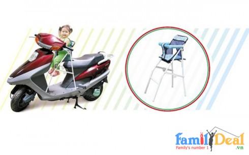 Ghế ngồi xe tay ga cho bé - Sản phẩm cho bé - Sản phẩm cho bé