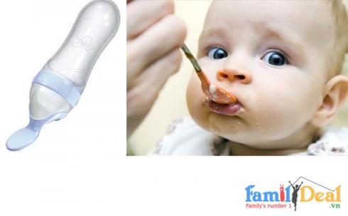 Bình Muỗng Ăn Bột Nuby-BPA Free - Sản phẩm cho bé
