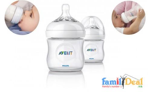 Bình Sữa Thủy Tinh Avent - 4oz (120ml) - Sản phẩm cho bé - Sản phẩm cho bé