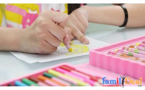 HỘP MÀU VẼ 86 MÓN - Sản phẩm cho bé - Sản phẩm cho bé